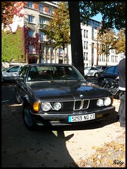 BMW E23 série 7 (kity54) Tags: auto old classic cars car automobile 7 voiture panasonic coche older bmw serie dmc octobre cvg ancienne ancien автомобиль 2011 véhicule מכונית e23 allemande السيارات نقل tz5 輸送自動車