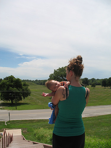 Anna and Alex, Monks Mound
