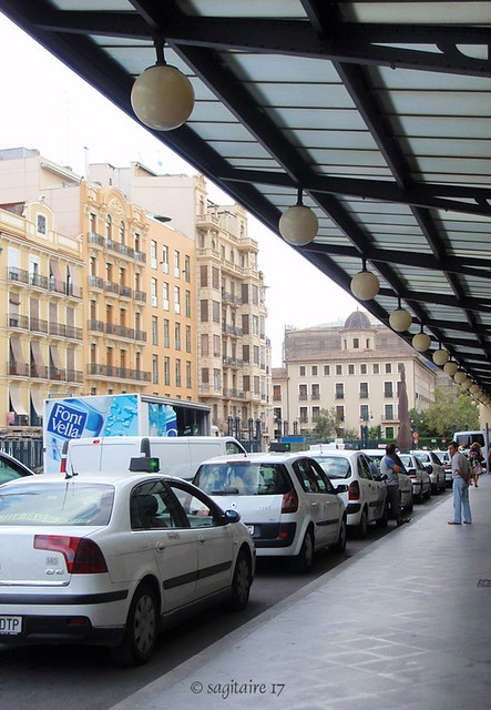08-08.568 - Estación central de tren de Valencia (España),Agosto del 2008.