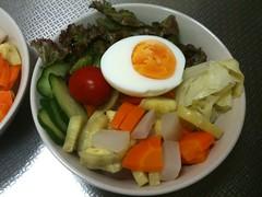 朝食サラダ(2011/8/11)