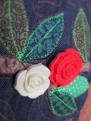Maravilhosa Quinta Flower ! (Joana Joaninha) Tags: love bag amor rosa patchwork bolsa deus joanajoaninha botovermelho hellennilce