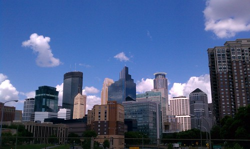 Minneapolis Skyline from South