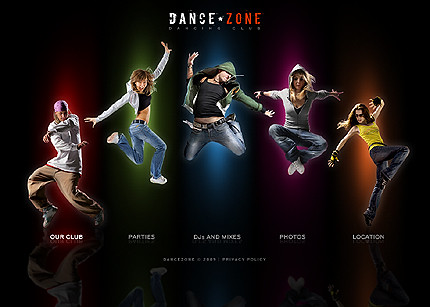 Flash site 23716 Dance zone