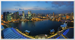 Singapore Marina Bay (fiftymm99) Tags: show park bridge reflection building water skyline museum marina river lights one restaurant hotel bay pier boat nikon singapore day waterfront fireworks rehearsal may bank casino parade celebration business national land ndp cbd clifford standard fullerton merlion performances ntuc chartered d300 marinabay uob maybank 2011 charted captial artscience stnadard fiftymm99 gettyimagessingaporeq2