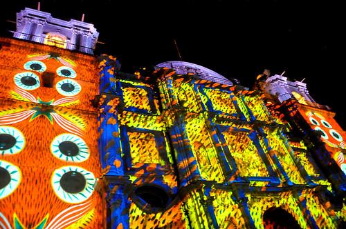 Espectáculo Multimedia Catedral Oaxaca (10)