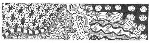 zentangle bookmark 004