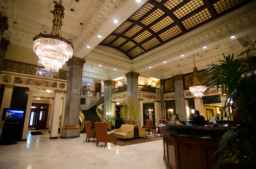 Lobby of the Seelbach Hilton