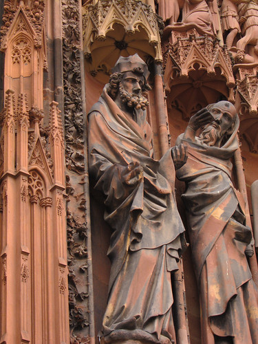 Strasbourg Cathedral Statues