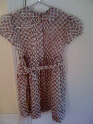 1950s little girl dress