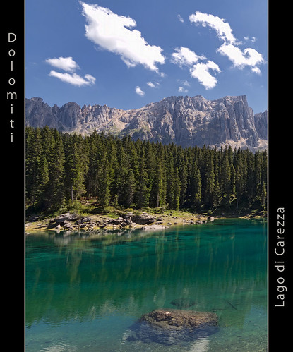 Lago di Carezza - Dolomites - UNESCO World Heritage Site