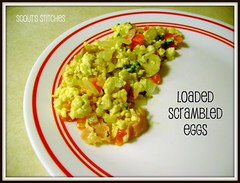SCRAMBLED EGGS RECIPE BUTTON