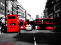 Oxford Street London (darkdriver) Tags: road street city uk red london canon publictransport busses streetview citys canonpowershot uklondon londonuk oxfordstreetlondon