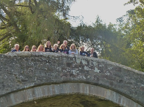 Tour Group at Brig o Doon