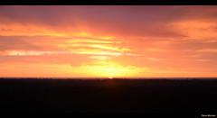 Here comes the sun (Rene Mensen) Tags: sky sun holland sunrise thenetherlands meter nikkor 32 zon drenthe odoorn exloo zonsopkomst hoogte poolshoogte d5100