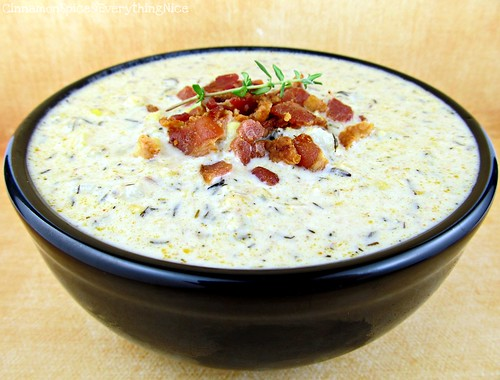 Fresh Corn and Bacon Chowder
