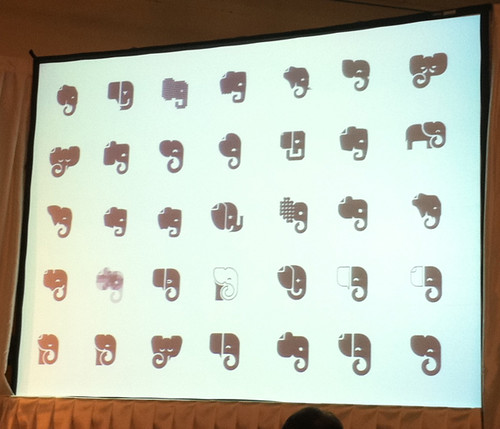 Evernote Trunk Conference: Logo Designs 2