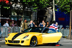 Ferrari 599 GTB Novitec Rosso (Lambo8) Tags: horse paris france car yellow jaune de photo hp nikon italia power d 8 s ferrari arab 200 gto 28 af gt nikkor 75 80 fr rosso f28 supercar ch qatar gtb 80200mm 80200 ksa arabs haut 80mm 200mm prparation 599 tunned afd novitec gamme d80 worldcars