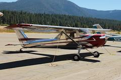 Cessna 150 Taildragger (Garrett Grant) Tags: lake aluminum texas south nevada tahoe 150 cessna polished taildragger