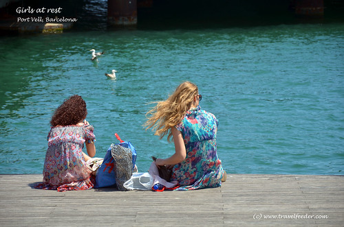 Rest at Port Vell