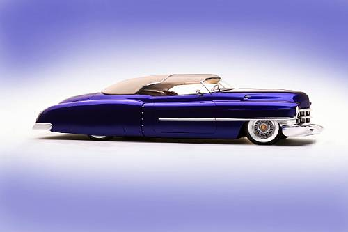 1950 Cadillac Series 61 Roadster Hotrod - fabricated by Rick Dore