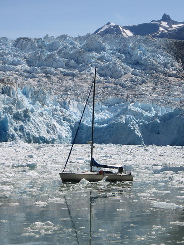 icy sailing