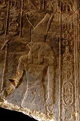 Carving, Temple of Mut, Jebel Barkal, Sudan