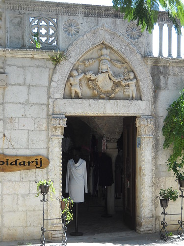 Shopping on Rab Island, Croatia