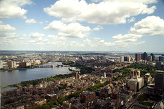 Boston Overview (Jacksonian22) Tags: city bridge cambridge summer sky usa building boston clouds river landscape pepper photography photo nikon cityscape salt overview d90 jacksonian22