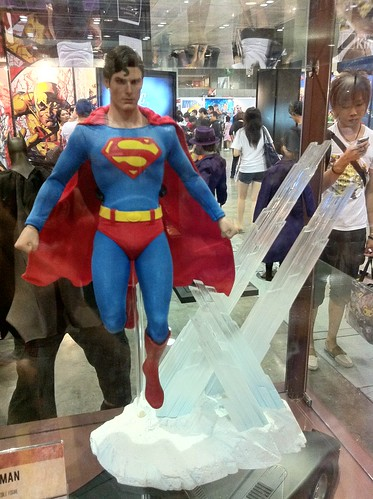 Hot toys Superman STGCC ROCKETRAYGUN kelvin chan