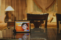 .. (Abdulaziz Al-mansour) Tags: home lamp canon table ipad  550d    mshaal
