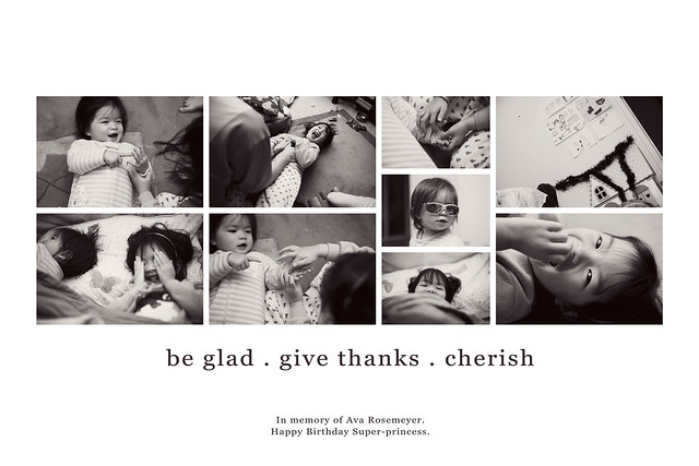 Be Glad - Give Thanks - Cherish