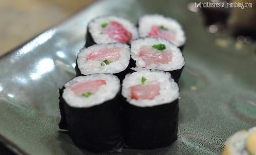 Hamachi Roll at Murasaki Japanese ~ Stillwater, MN