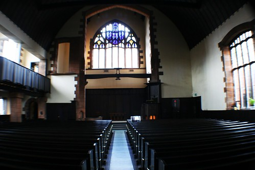 Interior of Mackintosh Church