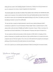 Appeal by Kavinjar. Vidhyasagar, Kuwait (Page-2) (End Death Penalty) Tags: from kuwait appeal