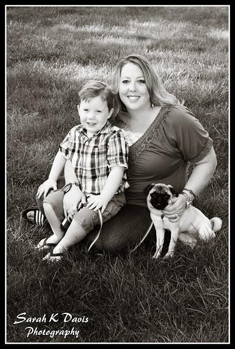 Sebastian, Mommy, & Cocoa