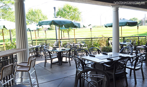 Patio Area at Houlihan's ~ Eagan, MN