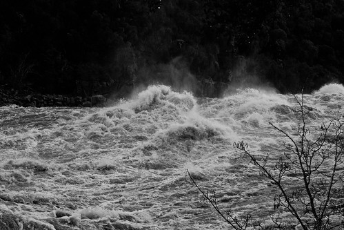 Gorge In Flood