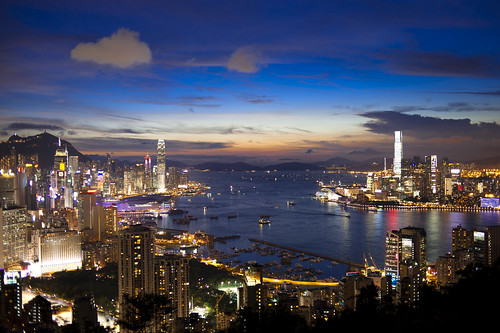 Hong Kong Victoria Harbour by Bo-Chi Workshop