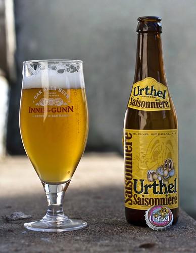 Urthel Saisonnière Blonde Special Ale by Cody La Bière