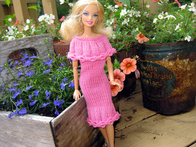 Ravelry Wovenflames 2nd 1963 Barbie Dress