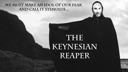 THE KEYNESIAN REAPER by Colonel Flick