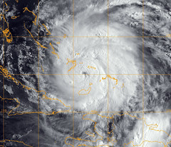 """Official U.S. Navy Image of Hurricane Irene"""