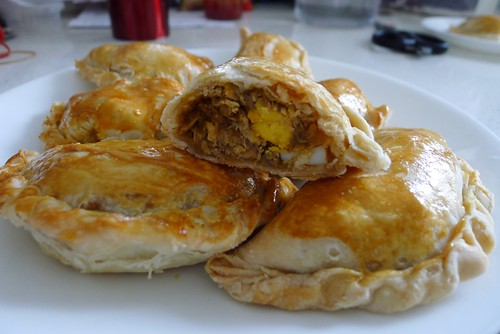 Curry puff inside
