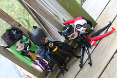 235/365 Batgirl had thought she had finally saved the day... (pullip_junk) Tags: batman pullip batgirl catwoman harleyquinn wonderfestival custompullip dueladent