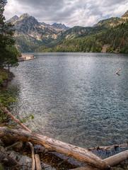 Estany de Sant Maurici (series) (Paco CT) Tags: wood mountain motif clouds forest lago spain bosque nubes montaa esp lleida motivo espot 2011 santmaurici pacoct