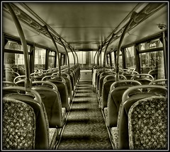 Lonely (JHHALL2010.) Tags: bw bus transport preston stagecoach doubledecker greatphotographers digitalcameraclub kartpostal