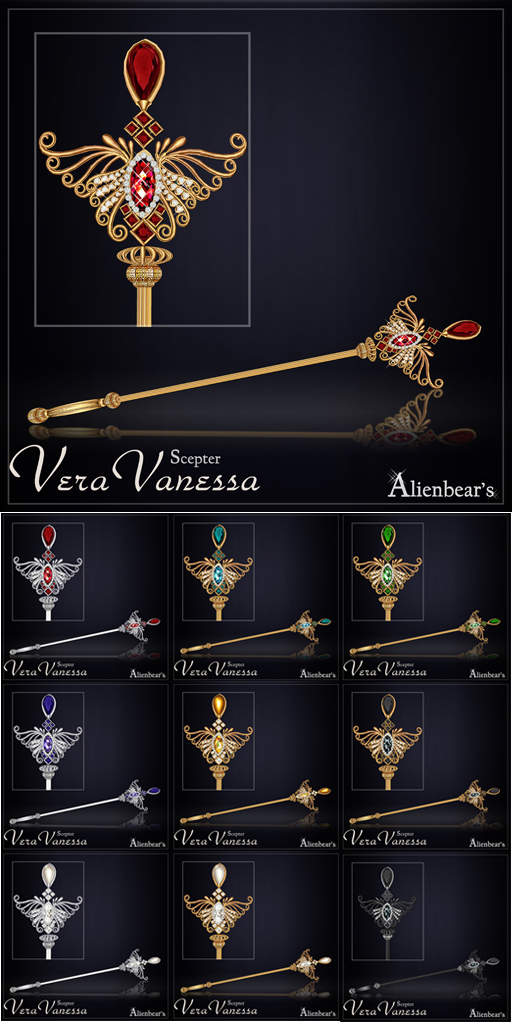 Vera Vanessa Sceptre all