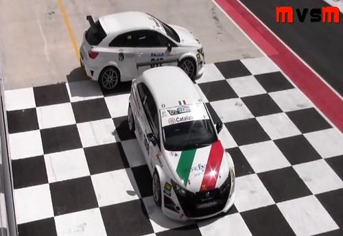 Prueba Seat Ibiza Astra Racing Circuito Navarra