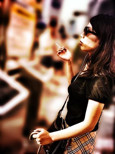 Smoking Fasion