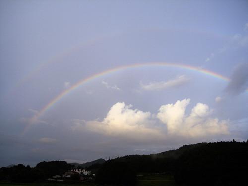 二重の虹@奈良県-08